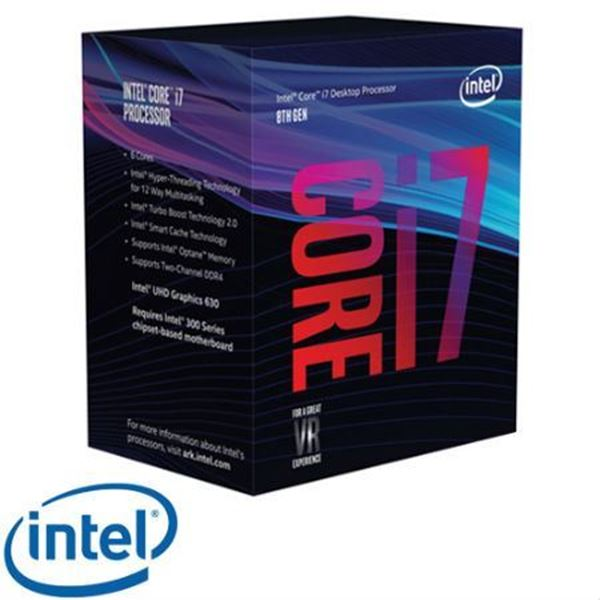 תמונה של מעבד INTEL CORE I7-8700 3.20GHZ 12M LGA1151 BOX