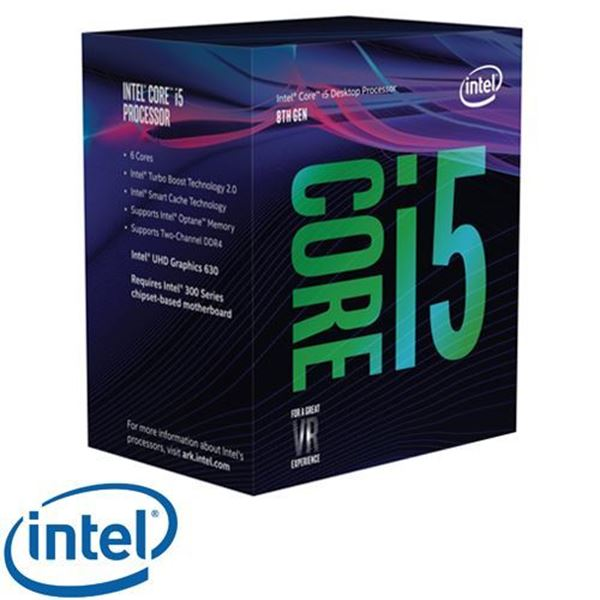 תמונה של מעבד INTEL CORE I5-8400 2.8GHz 9MB  Coffee Lake BOX