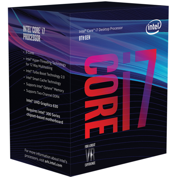 תמונה של מעבד INTEL CORE I7-8700 4.60GHZ 12M LGA1151 Coffee Lake BOX